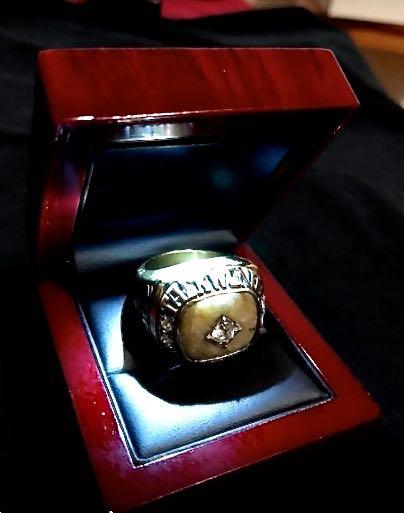 Kukkiwon Stone Ring